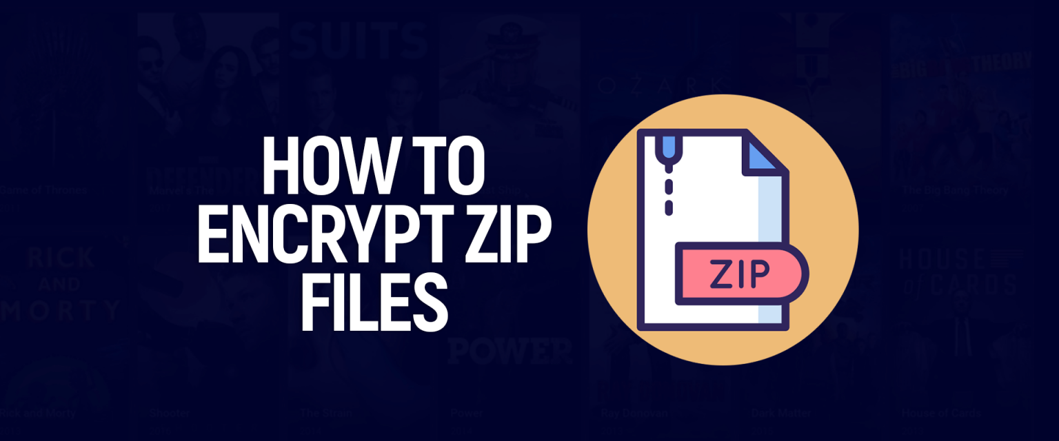 Zip dosyasını nasıl şifreleyebilirim?