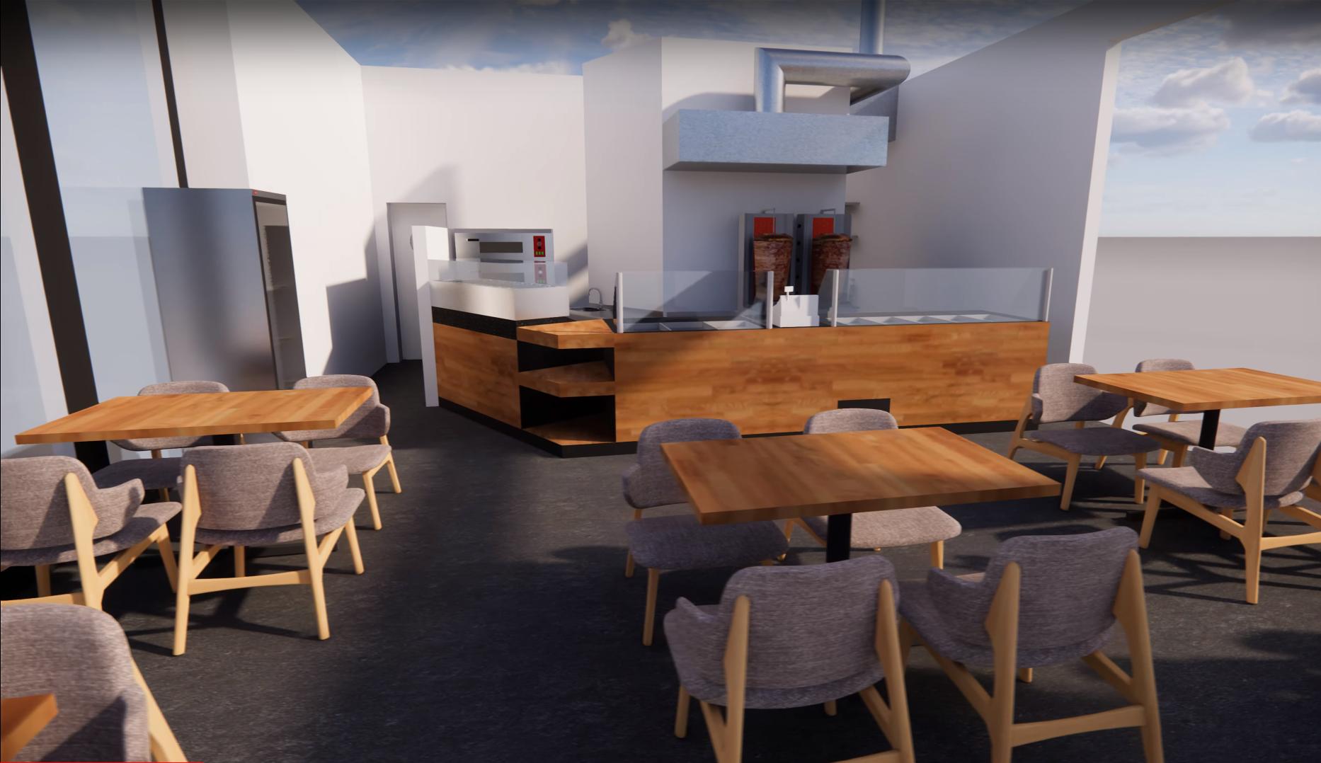 3 boyutlu restoran tasarımı nasıl yapılır?