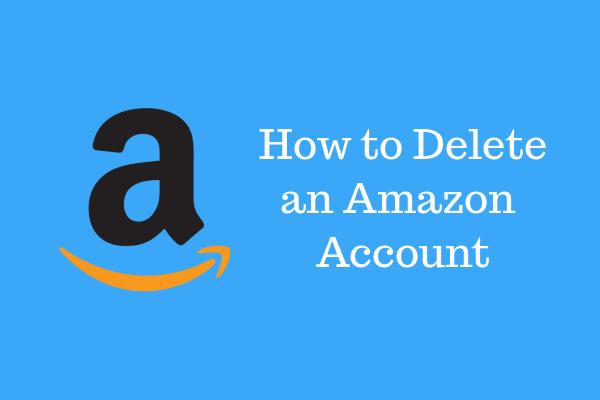 Amazon Hesabını Silme
